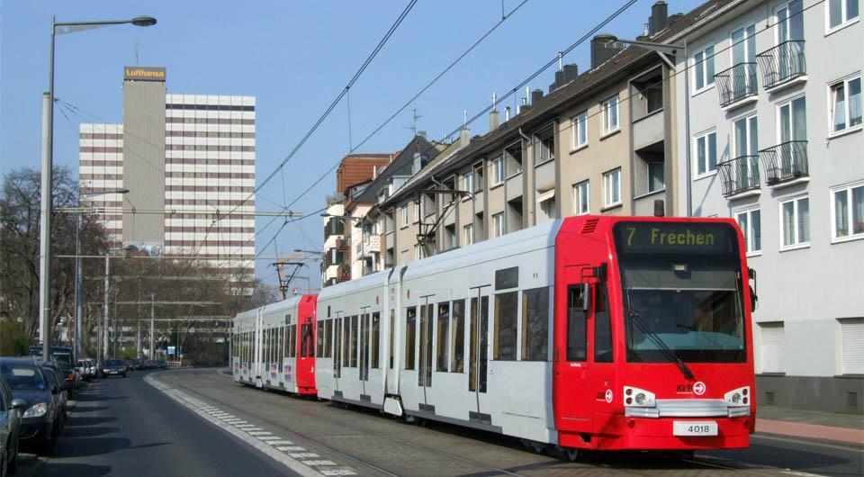 Straßenbahn 7 Köln